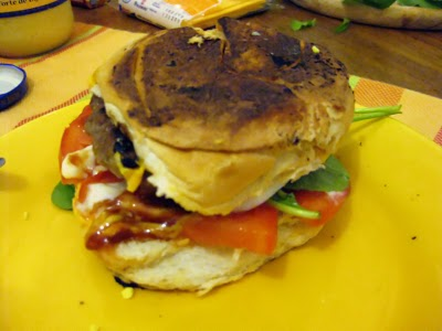 Hamburgers caseiros