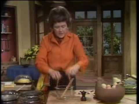 O omelete de Julia Child