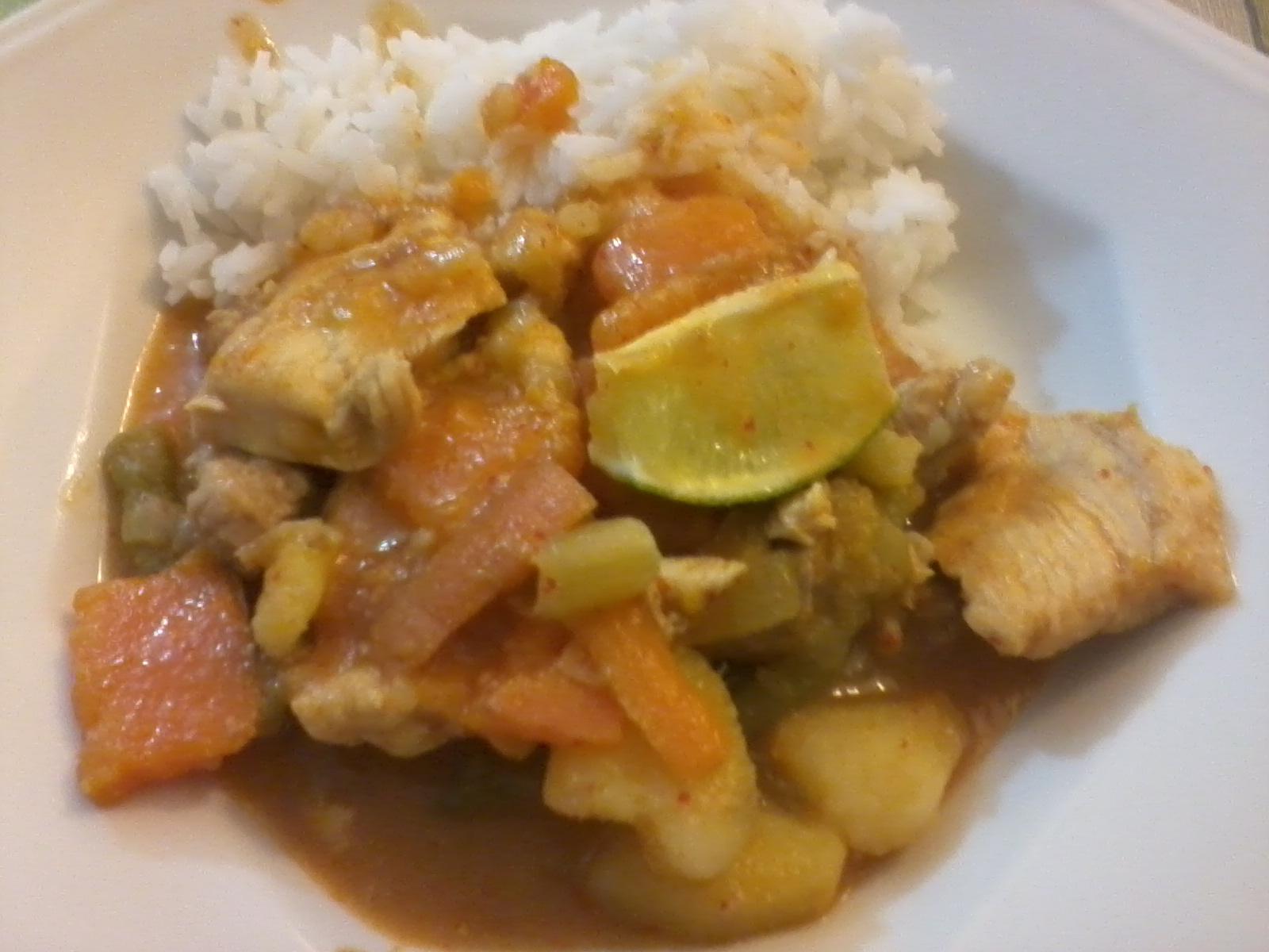 แกงเผ็ด – Curry vermelho tailandês
